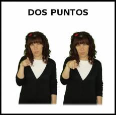 DOS PUNTOS - Signo