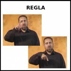 REGLA (MENSTRUACIÓN) - Signo