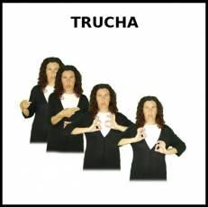 TRUCHA (ANIMAL) - Signo