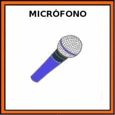 MICRÓFONO - Pictograma (color)