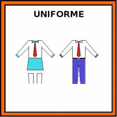 UNIFORME - Pictograma (color)