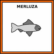 MERLUZA (ANIMAL) - Pictograma (color)