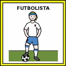 FUTBOLISTA (MUJER) - Pictograma (color)