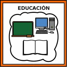 EDUCACIÓN - Pictograma (color)