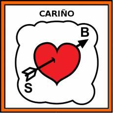 CARIÑO - Pictograma (color)