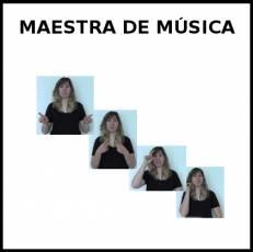 MAESTRA DE MÚSICA - Signo