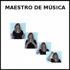 MAESTRO DE MÚSICA - Signo