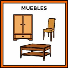 MUEBLES - Pictograma (color)