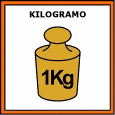 KILOGRAMO - Pictograma (color)