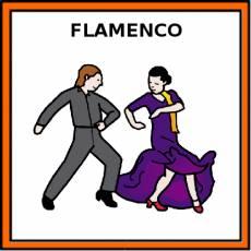 FLAMENCO (BAILE) - Pictograma (color)