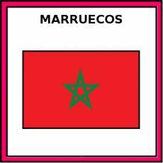 MARRUECOS - Pictograma (color)