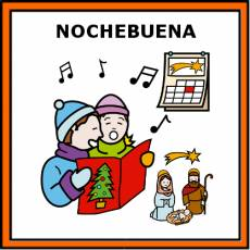 NOCHEBUENA - Pictograma (color)