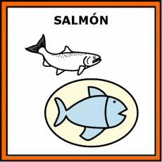 SALMÓN (ALIMENTO) - Pictograma (color)
