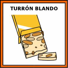 TURRÓN BLANDO - Pictograma (color)
