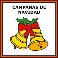 CAMPANAS DE NAVIDAD - Pictograma (color)