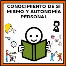 CONOCIMIENTO DE SÍ MISMO Y AUTONOMÍA PERSONAL - Pictograma (color)
