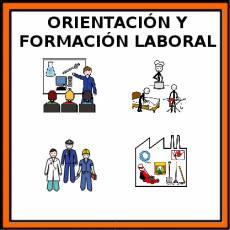 ORIENTACIÓN Y FORMACIÓN LABORAL - Pictograma (color)