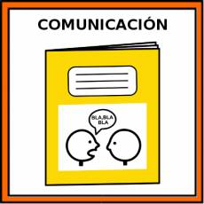 COMUNICACIÓN - Pictograma (color)