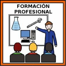 FORMACIÓN PROFESIONAL - Pictograma (color)