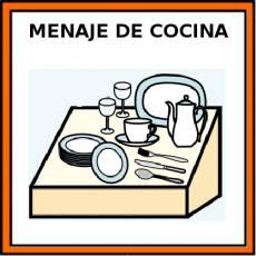 MENAJE DE COCINA - Pictograma (color)