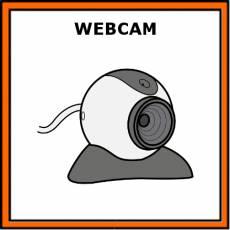 WEBCAM - Pictograma (color)