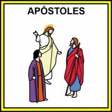 APÓSTOLES - Pictograma (color)