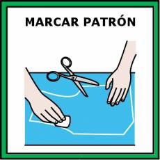 MARCAR PATRÓN - Pictograma (color)