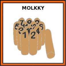 MOLKKY - Pictograma (color)
