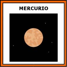 MERCURIO (PLANETA) - Pictograma (color)
