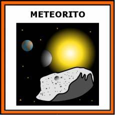 METEORITO - Pictograma (color)