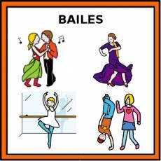 BAILES - Pictograma (color)