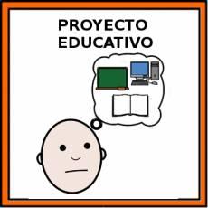 PROYECTO EDUCATIVO - Pictograma (color)