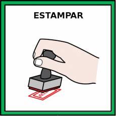 ESTAMPAR - Pictograma (color)