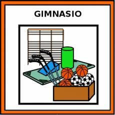 GIMNASIO - Pictograma (color)