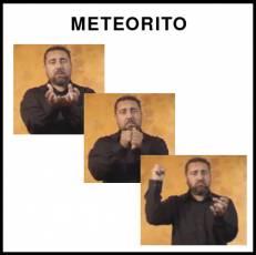 METEORITO - Signo