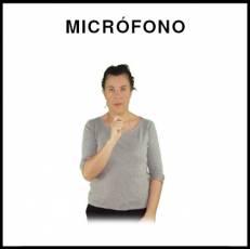 MICRÓFONO - Signo