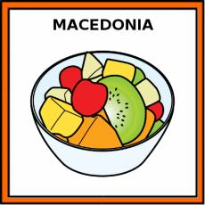 MACEDONIA (FRUTA) - Pictograma (color)