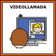 VIDEOLLAMADA - Pictograma (color)
