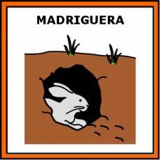 MADRIGUERA - Pictograma (color)